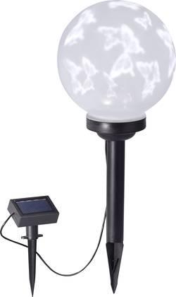 LED solární dekorativní osvětlení – motýl LeuchtenDirekt Kira, 0.2 W, IP44, bílá