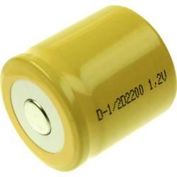 Špeciálny akumulátor Mexcel D-1/2D2200, 1/2 D, Flat-Top, Ni-Cd, 1.2 V, 2200 mAh
