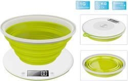 Digitální kuchyňská váha TKG Team Kalorik TKG EKS 1004, max. váživost 5 kg, jablkově zelená
