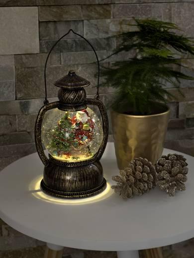 led laterne weihnachtsmann warm wei led konstsmide 3497. Black Bedroom Furniture Sets. Home Design Ideas