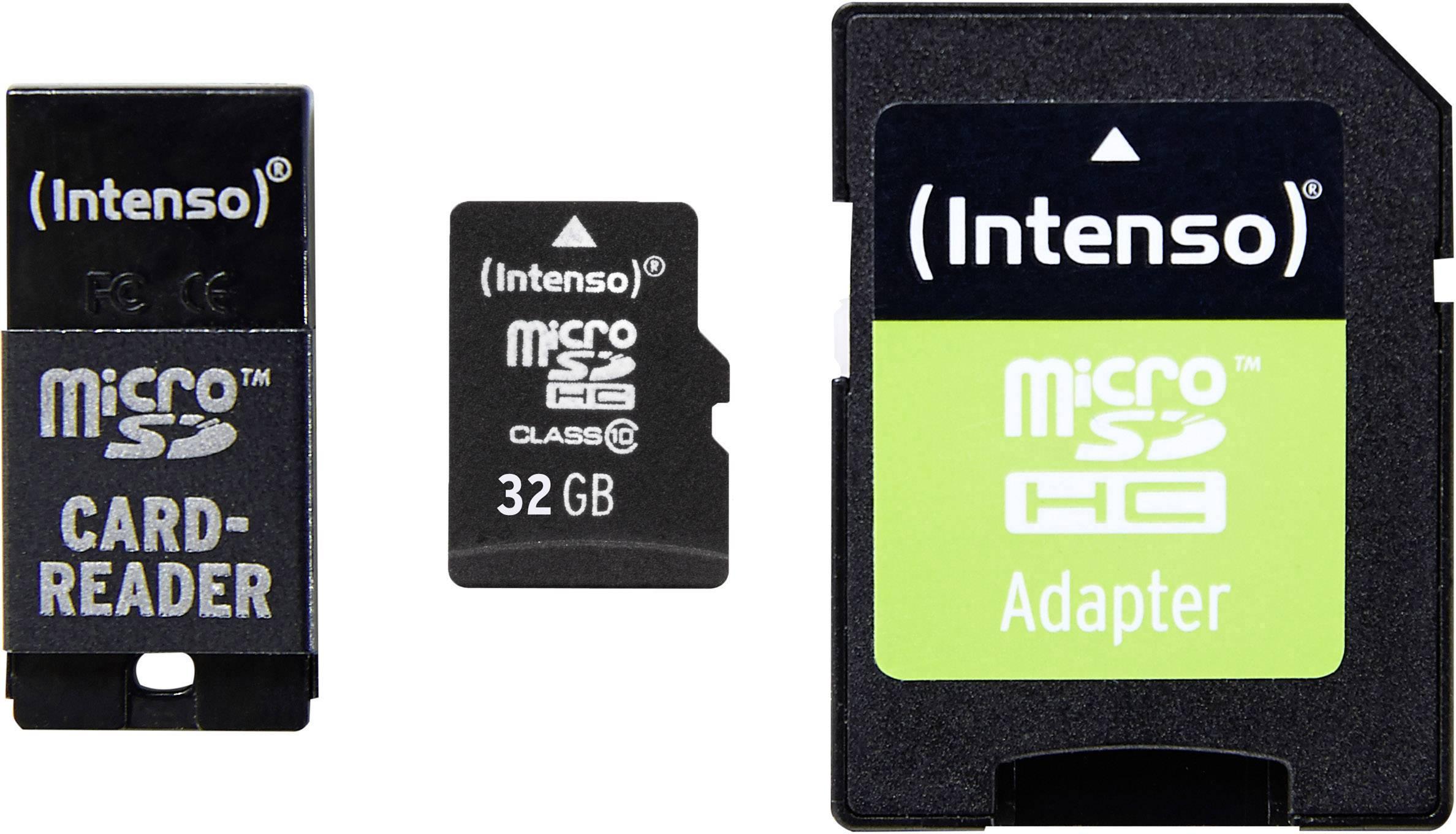 Microsd Karten Kaufen Memory Card V Gen 16 Gb Class 6 Intenso Adapter Set Microsdhc Karte