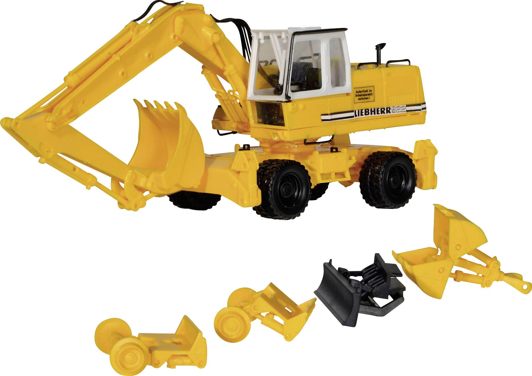 H0 Bausatz Kibri 11281 FUCHS Mobilseilbagger 301