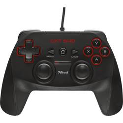 Trust GXT 540 gamepad PC, PlayStation 3 čierna