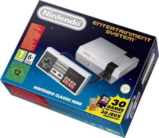 Nintendo Classic Grau inkl. installierte Spiele