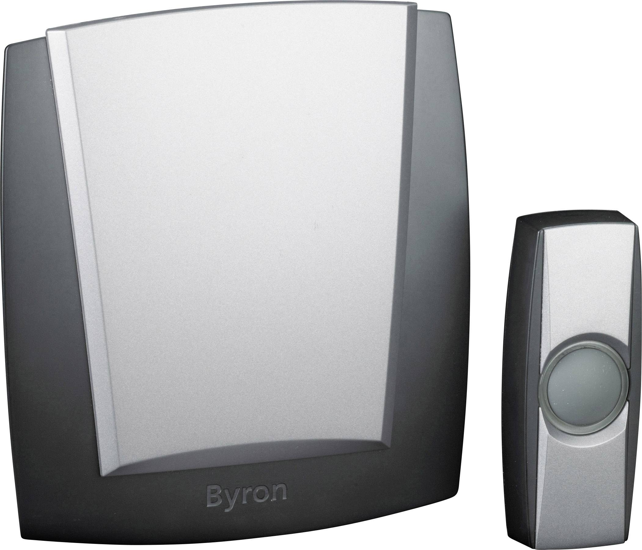 Wireless door bell Complete set backlit with nameplate Byron BY503ZE  sc 1 st  Conrad Electronic UK & Wireless door bell Complete set backlit with nameplate Byron ...