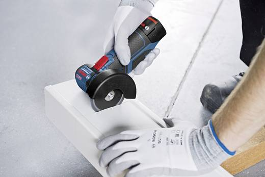 Akku-Winkelschleifer 76 mm inkl. 2. Akku, inkl. Koffer 10.8 V 2.5 Ah Bosch GWS 10,8-76 V-EC Professional 06019F2002