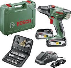 Aku vŕtací skrutkovač Bosch Home and Garden PSR 18 Li-2 060397330U, 18 V, 2.5 Ah, Li-Ion akumulátor