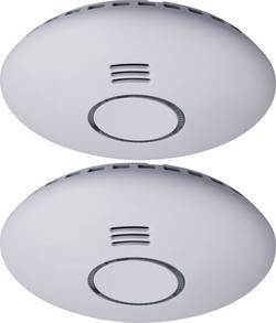 Bezdrôtový detektor dymu Smartwares RM174RF/2, možnosť zapojenia do siete,na batérie, sada 2 ks