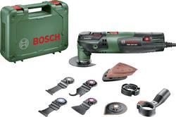 Multifunkční nářadí Bosch Home and Garden PMF 250 CES Set 0603102101, 250 W, vč. příslušenství, kufřík, 16dílná