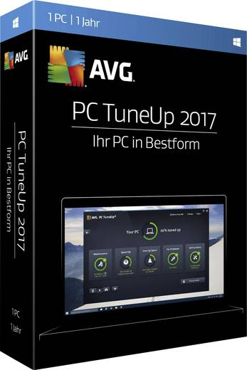 avg pc tuneup 2017 vollversion 1 lizenz windows. Black Bedroom Furniture Sets. Home Design Ideas