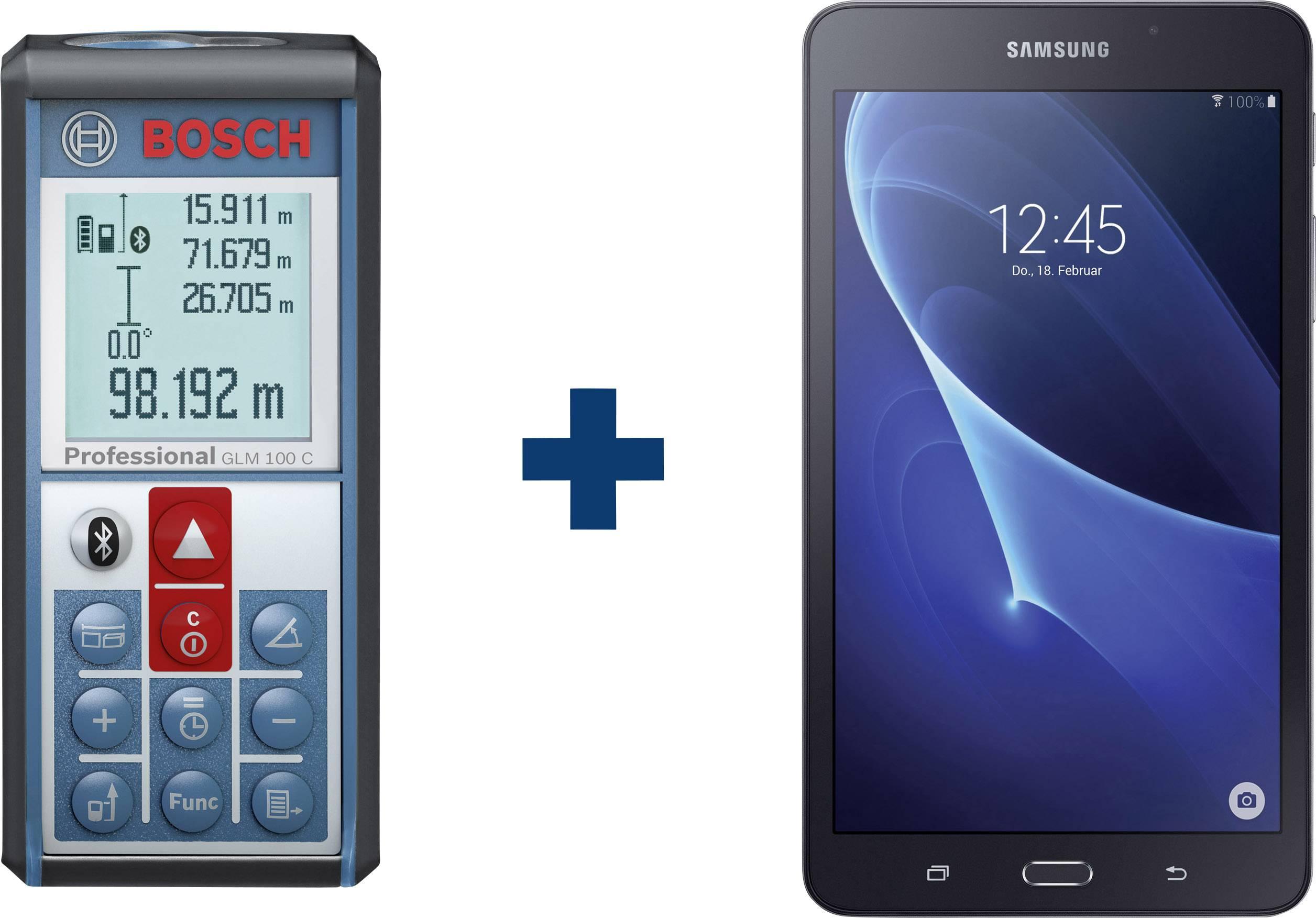 Laser Entfernungsmesser Smartphone : Bosch glm c samsung galaxy tab a laser entfernungsmesser