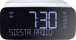 DAB+ radiobudík s USB nabíječkou mobilů Pure DAB+, FM, USB, bílá, černá