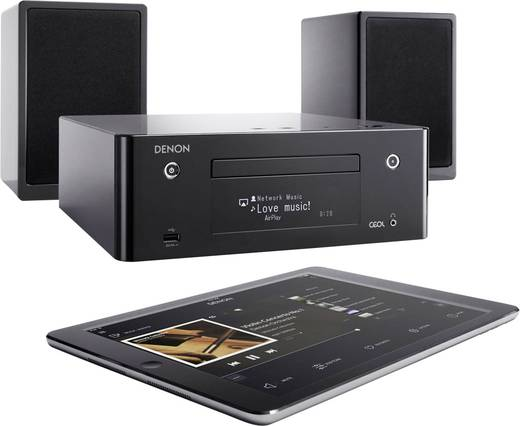 stereoanlage denon ceol n9 cd bluetooth usb dlna air. Black Bedroom Furniture Sets. Home Design Ideas