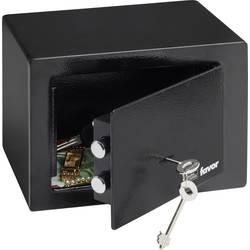 Bezpečnostný trezor Burg Wächter 35760, FAVOR S1 K, na kľúč, (š x v x h) 230 x 170 x 170 mm, čierna