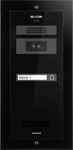 Kabelový domovní video telefon Bellcome Advanced VPA.1F002.BLB, černá