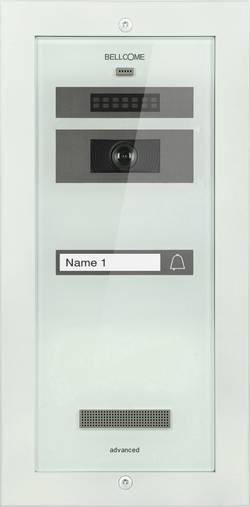 Kabelový domovní video telefon Bellcome Advanced VPA.1F002.BLW, bílá