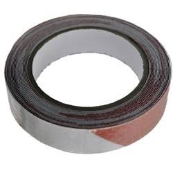Vytyčovacia páska lepiaca TOOLCRAFT ANST259M-RW, (d x š) 9 m x 25 mm, červená, biela, 1 ks