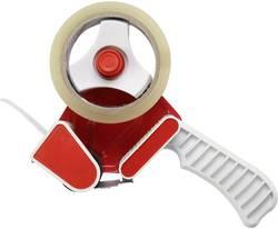 Ruční odvíječ lepicí pásky TOOLCRAFT, sada s 2 kotouči pásky, 50 mm, 66 m