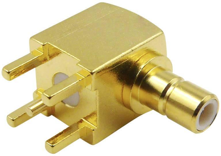 TRU Components SMB-Steckverbinder Stecker gerade 50Ω 1St.