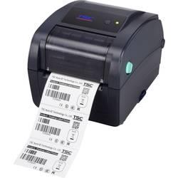 Tlačiareň štítkov termotransferová , termálna s priamou tlačou TSC TC200, Šírka etikety (max.): 108 mm, USB, RS-232, paralelné, LAN