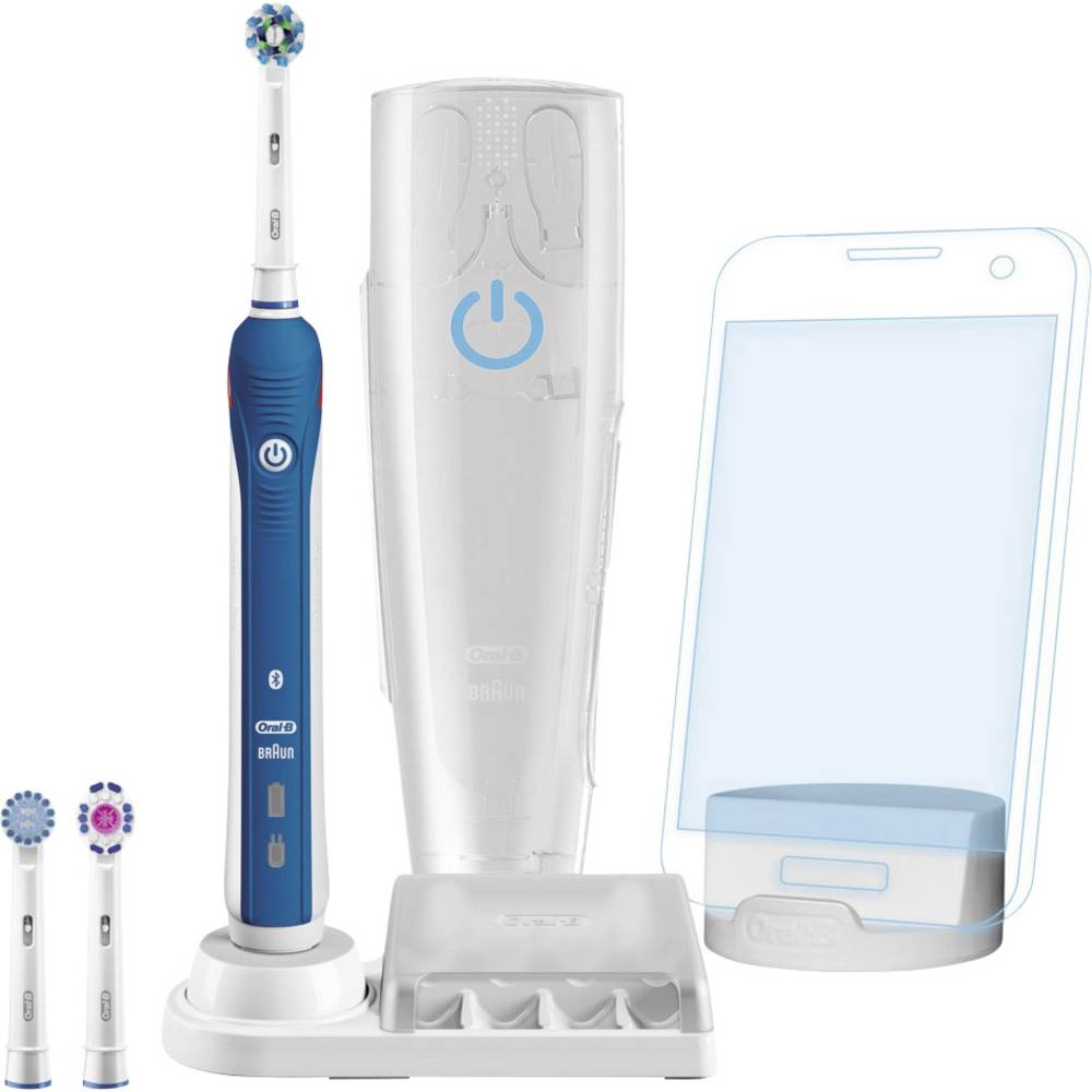 The Oral-B SmartSeries rechargeable electric toothbrush with Bluetooth connectivity removes up to % more plaque along the gum line*. Bluetooth communication allows the brush to connect with your smartphone to give you real-time feedback on your brushing habits.
