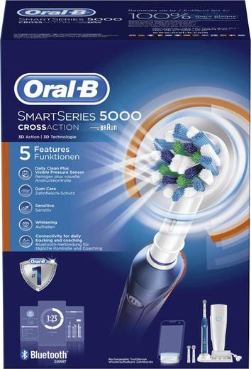 elektrische zahnb rste oral b smartseries 5000 crossaction. Black Bedroom Furniture Sets. Home Design Ideas