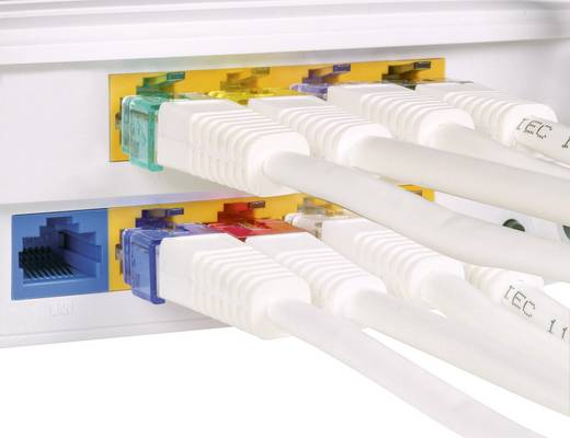 Rastnasen-Reparaturclip für Netzwerkkabel Renkforce RF-NW-RC RF-4480068 10 St.