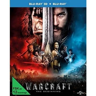 blu-ray 3D Warcraft The Beginning 3D FSK: 12 Preisvergleich