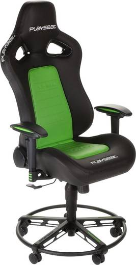 gaming stuhl playseats l33t schwarz gr n kaufen. Black Bedroom Furniture Sets. Home Design Ideas