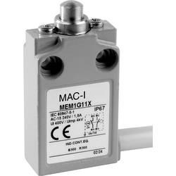Koncový spínač Panasonic MEM1G11ZD, 24 V, 5 A, tŕň, IP67, 1 ks