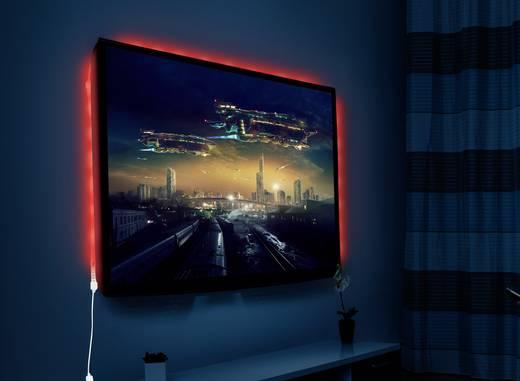 led streifen komplettset mit usb anschluss 5 v 150 cm rgb renkforce kaufen. Black Bedroom Furniture Sets. Home Design Ideas