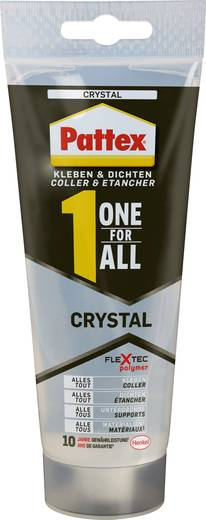 pattex one for all crystal klebe und dichtmasse pxoc2 216 g kaufen. Black Bedroom Furniture Sets. Home Design Ideas