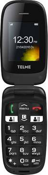 Telme X210 Senioren-Klapp-Handy mit Ladestation...