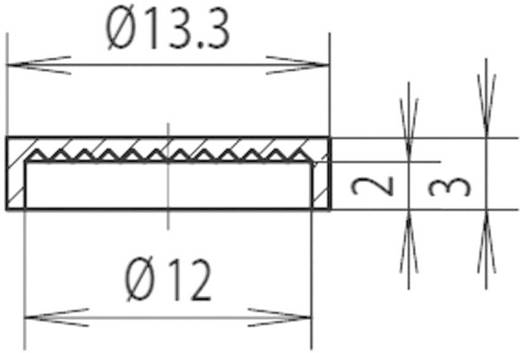 Leuchtkappe Grün Passend für Reflektor 12 mm Mentor 2450.0800
