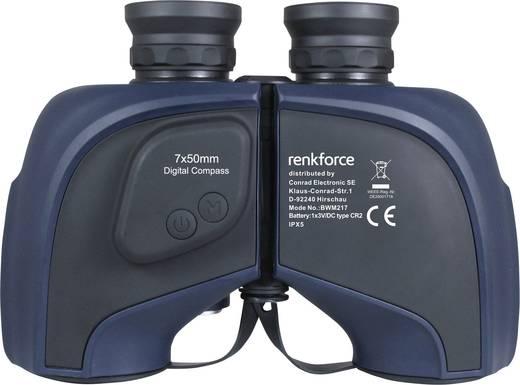 Marine Fernglas Mit Kompass Und Entfernungsmesser : Renkforce 7x50 binocular marine fernglas 7 x 50 mm blau