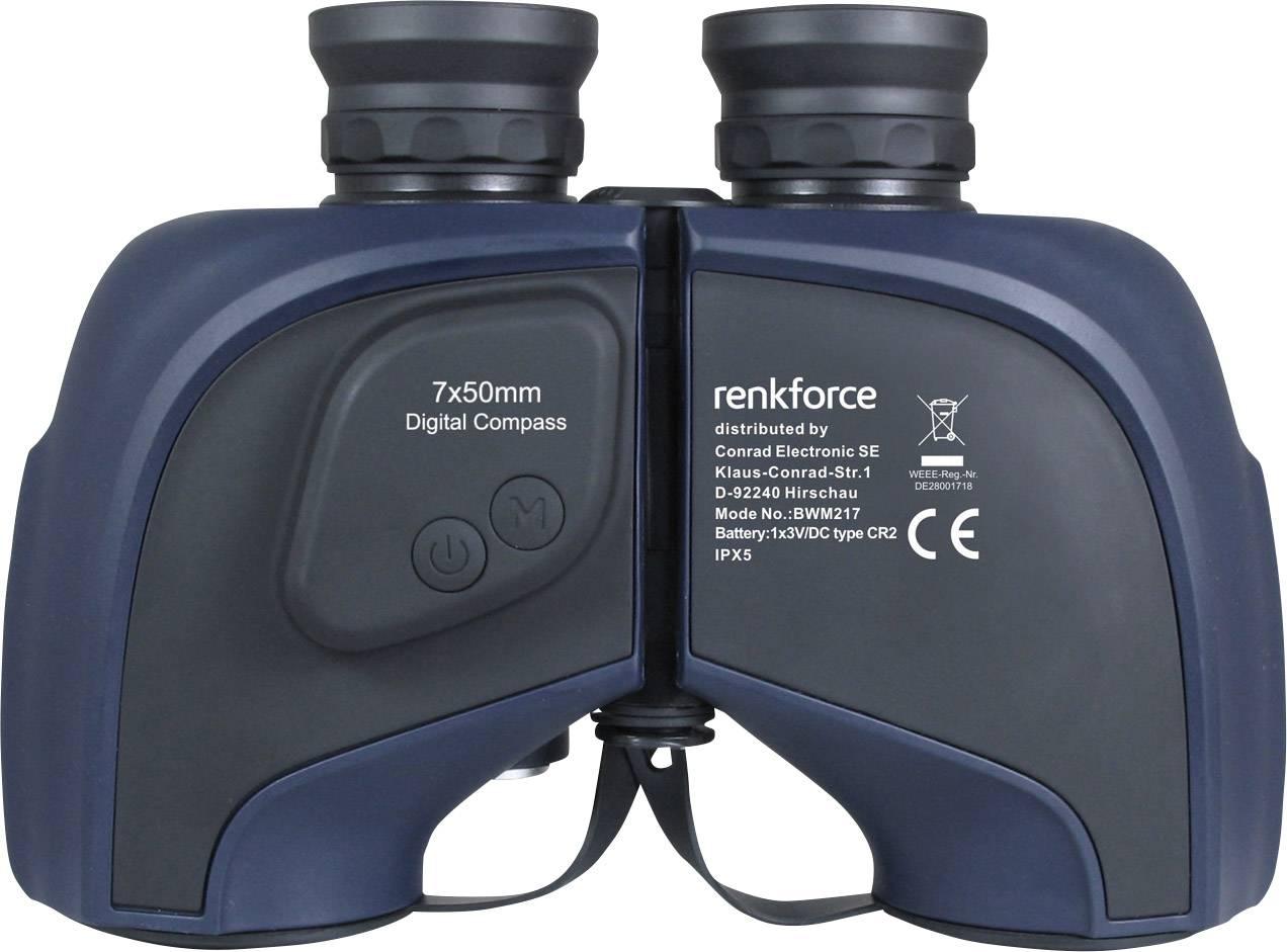 Renkforce marine fernglas binocular mm porro marine blau