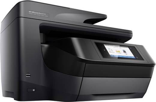 hp officejet pro 8725 e all in one tintenstrahl multifunktionsdrucker a4 drucker kopierer. Black Bedroom Furniture Sets. Home Design Ideas