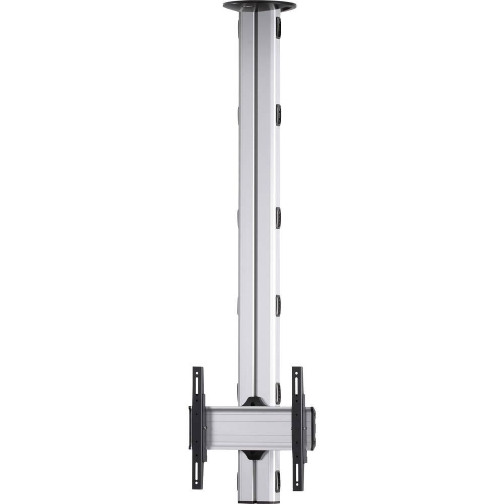 Support décran pour plafond VCM Morgenthaler TA-180 106,7 cm (42) - 139,7 cm (55) réglable en hauteur, inclinable argent-noir
