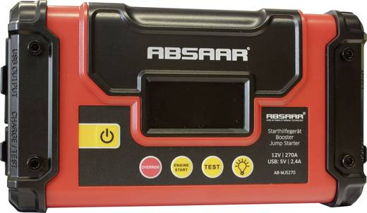 Absaar Schnellstartsystem AB-MJS270 Starthilfestrom (12 V)=270 A