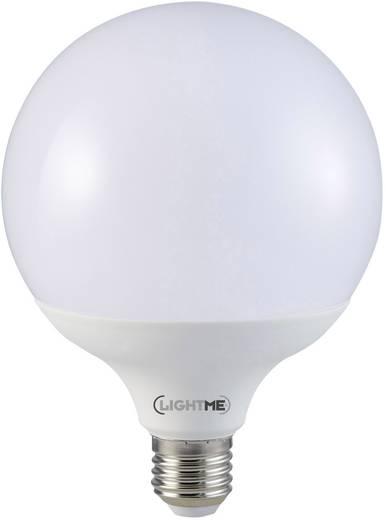 LightMe LED E27 Globeform 12 W = 75 W Warmweiß (Ø x L) 95 mm x 129 mm EEK: A+ 1 St.