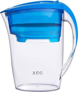 Carafe filtrante AEG 9001677096 2.6 l bleu 1 pc(s)
