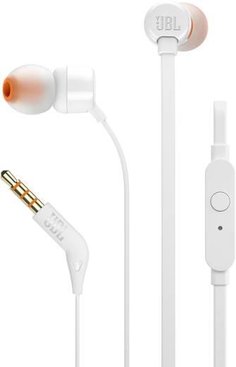 kopfh rer jbl harman t110 in ear headset wei kaufen. Black Bedroom Furniture Sets. Home Design Ideas