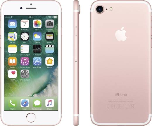 apple iphone 7 128 gb ros gold kaufen. Black Bedroom Furniture Sets. Home Design Ideas
