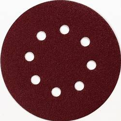 Brusné papíry pro excentrické brusky Makita P-43549 na suchý zip, Zrnitost 60, (Ø) 125 mm, 10 ks