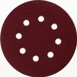 Brusné papíry pro excentrické brusky Makita P-43561 na suchý zip, Zrnitost 100, (Ø) 125 mm, 10 ks