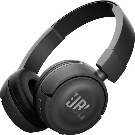 JBL Harman T450BT Bluetooth® Kopfhörer On Ear Faltbar, Headset Schwarz