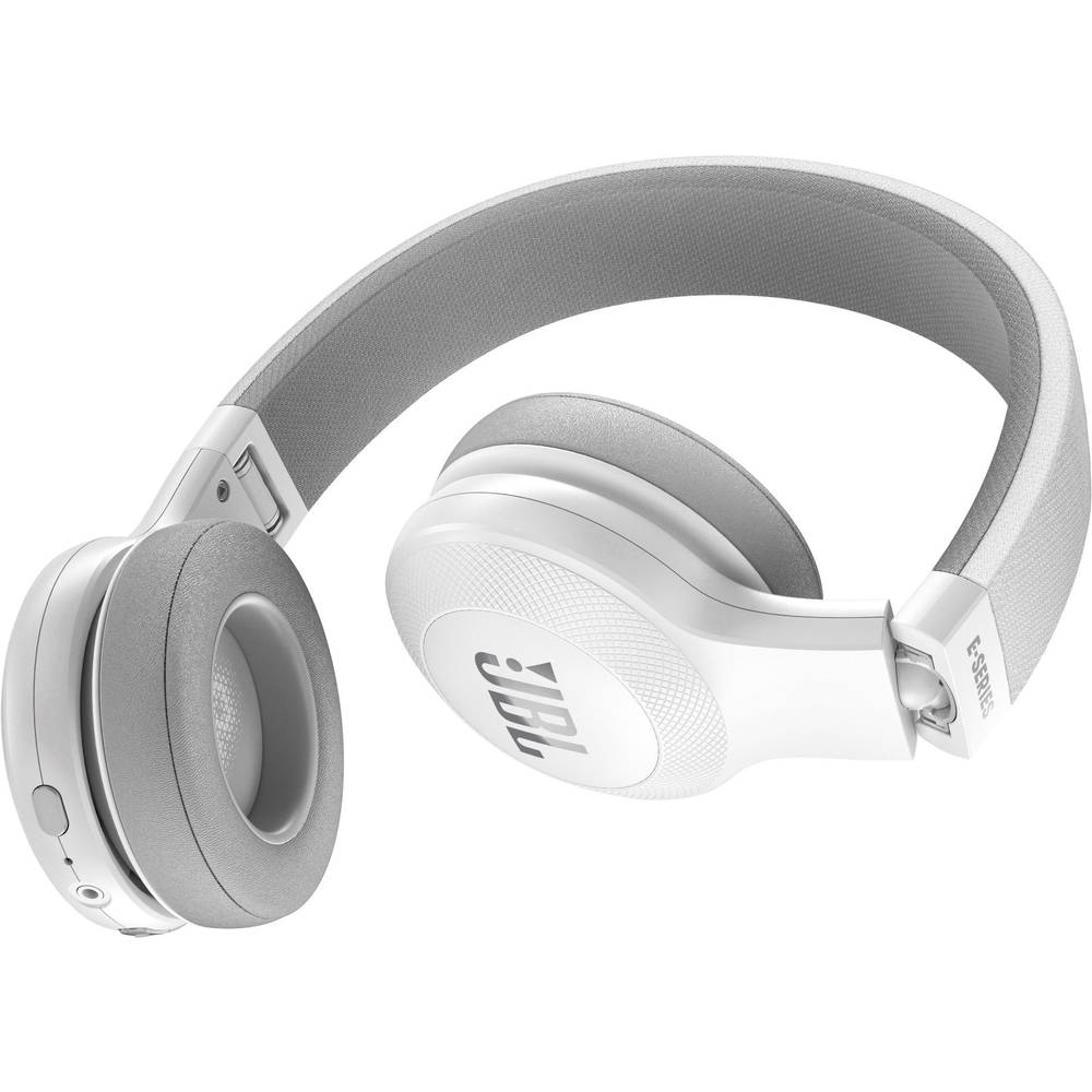 casque bluetooth supra aural jbl harman e45bt pliable micro casque blanc sur le site internet. Black Bedroom Furniture Sets. Home Design Ideas