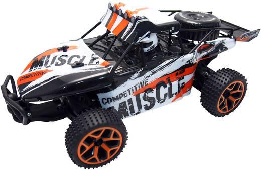 Amewi 22220 Extreme D5 1:18 RC Einsteiger Modellauto Elektro Buggy Allradantrieb inkl. Akku, Ladegerät und Senderbatteri