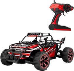 RC model auta pro začátečníky - elektrická bugina Amewi X-Knight RtR 22212 1:18, 4WD (4x4), červenávč. akumulátorů, nabíječky a baterie ovladače