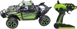 Elektrický RC model auta Amewi X-Knight 22221 - bugina 1:18, 4WD (4x4), vč. akumulátorů, nabíječky a baterie ovladače - Amewi Sand Buggy X-Knight 4WD zelená RC auto 1:18 dálkové ovládání 2.4GHz